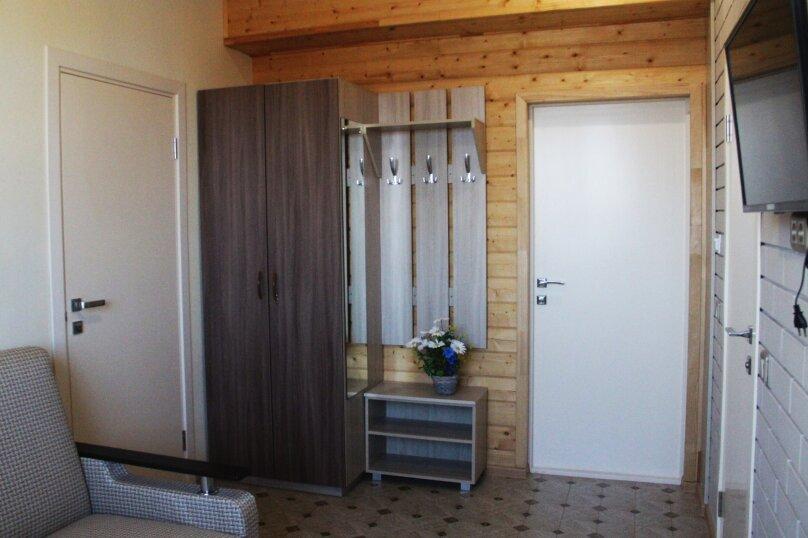 Четырехместный  2х комнатный номер с собственной ванной комнатой и миникухней, улица Виктора Щепетева, 4, Анапа - Фотография 4