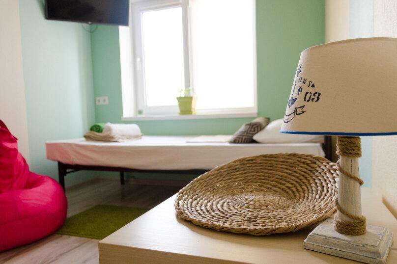 Двухместный номер с раздельными кроватями, улица Ленина, 31А, Дивноморское - Фотография 1
