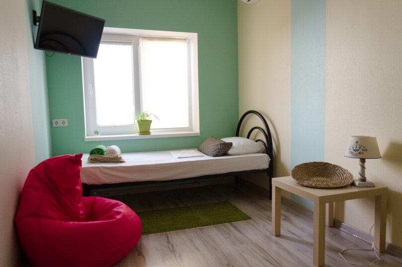 Двухместный номер с раздельными кроватями, улица Ленина, 31А, Дивноморское - Фотография 2