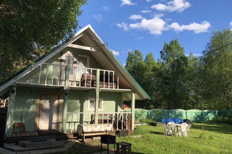 Дом с сауной для отдыха, 50 кв.м. на 3 человека, 1 спальня, Сяпся, пер. дачный, 10, посёлок Сяпся - Фотография 13