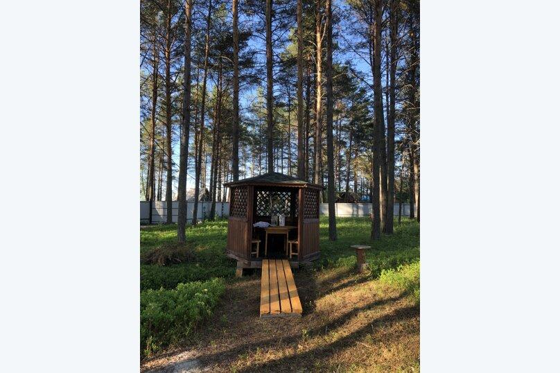Дом с сауной для отдыха, 50 кв.м. на 3 человека, 1 спальня, Сяпся, пер. дачный, 10, посёлок Сяпся - Фотография 15