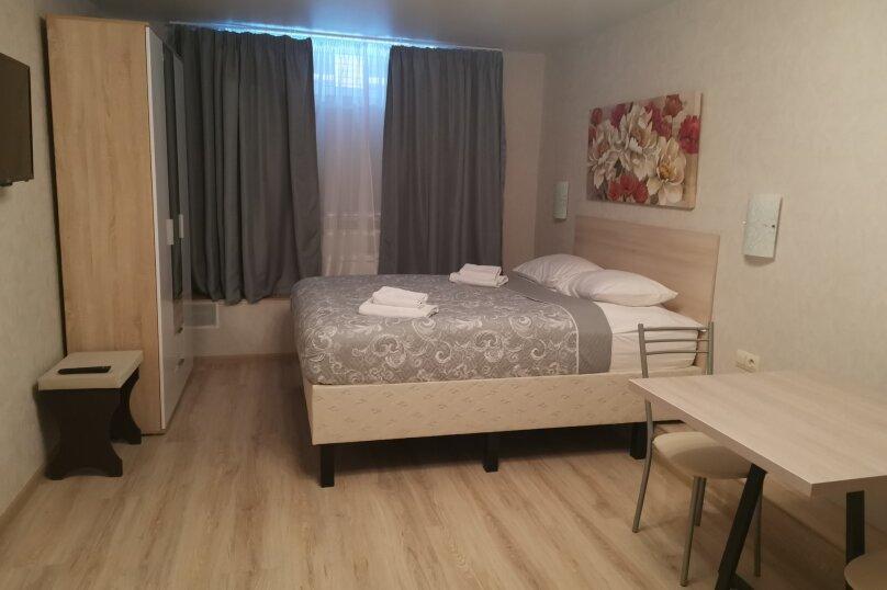 Студия с большой кроватью и собственной кухней, улица Потехина, 11, Томилино - Фотография 1