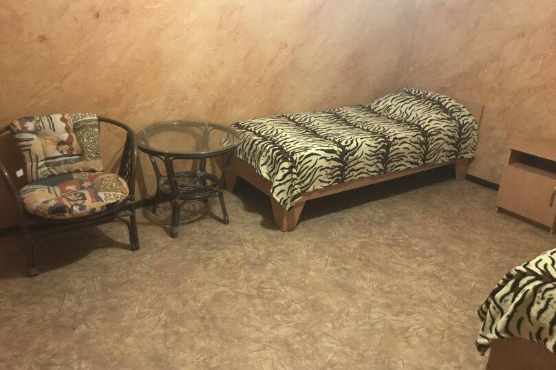 2-х комнатный дом со всеми удобства на 5 человек, 2 спальни, Приморская улица, 12, Черноморское - Фотография 17