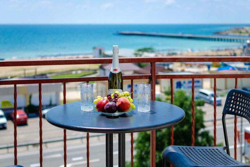 Пятиместный с балконом и видом на море, Приморская улица, 24, Лермонтово - Фотография 2