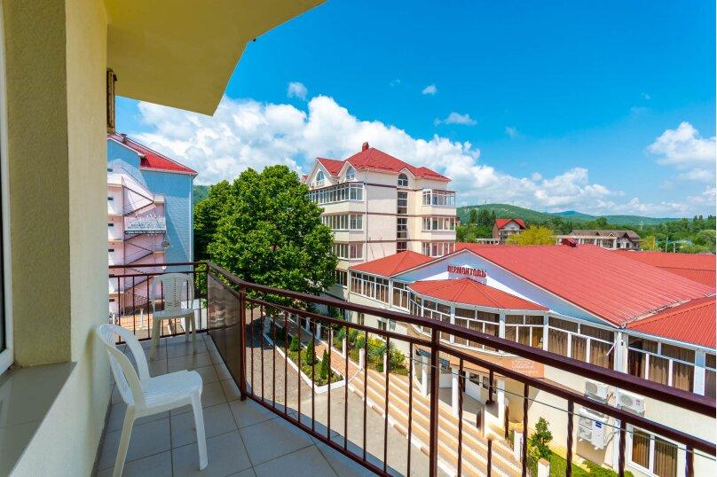 Четырёхместный номер с балконом, Приморская улица, 24, Лермонтово - Фотография 7