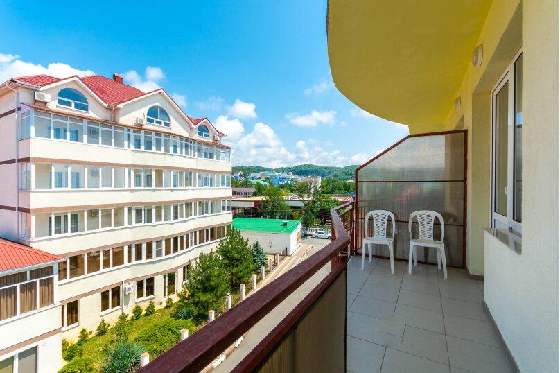 Четырёхместный номер с балконом, Приморская улица, 24, Лермонтово - Фотография 8