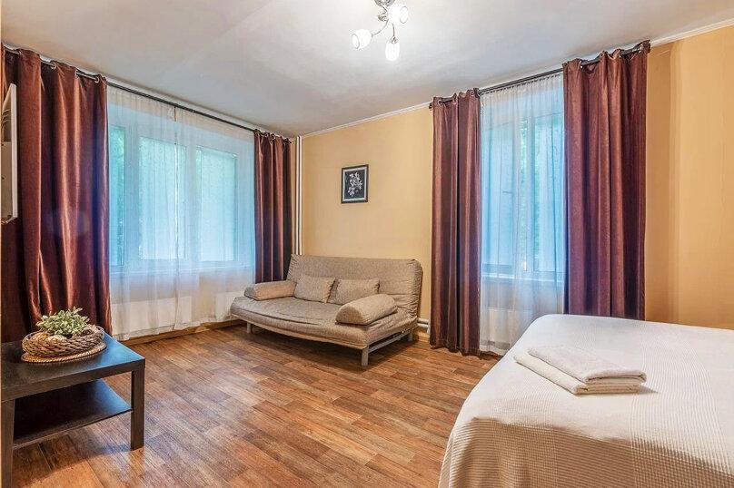 1-комн. квартира, 42 кв.м. на 3 человека, Волгоградский проспект, 131к1, Москва - Фотография 4