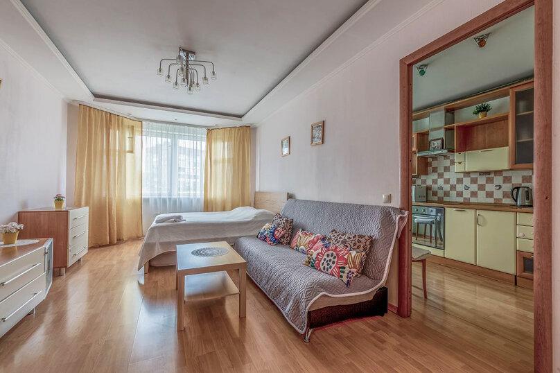 1-комн. квартира, 40 кв.м. на 3 человека, 8-я улица Текстильщиков, 13к2, Москва - Фотография 2