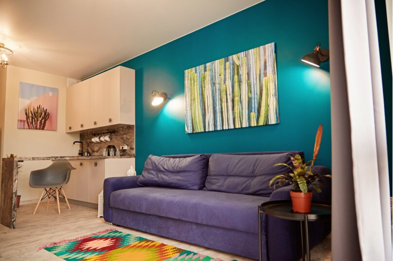 1-комн. квартира, 33 кв.м. на 2 человека, улица Гайдара, 22, Дагомыс - Фотография 1