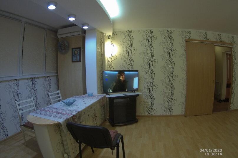 2-комн. квартира, 60 кв.м. на 4 человека, проспект Октябрьской Революции, 56А, Севастополь - Фотография 4