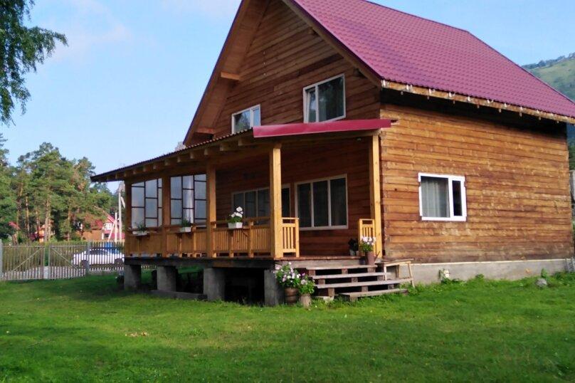 Дом у реки Катунь, 130 кв.м. на 8 человек, 4 спальни, Береговая улица, 6, Манжерок - Фотография 1