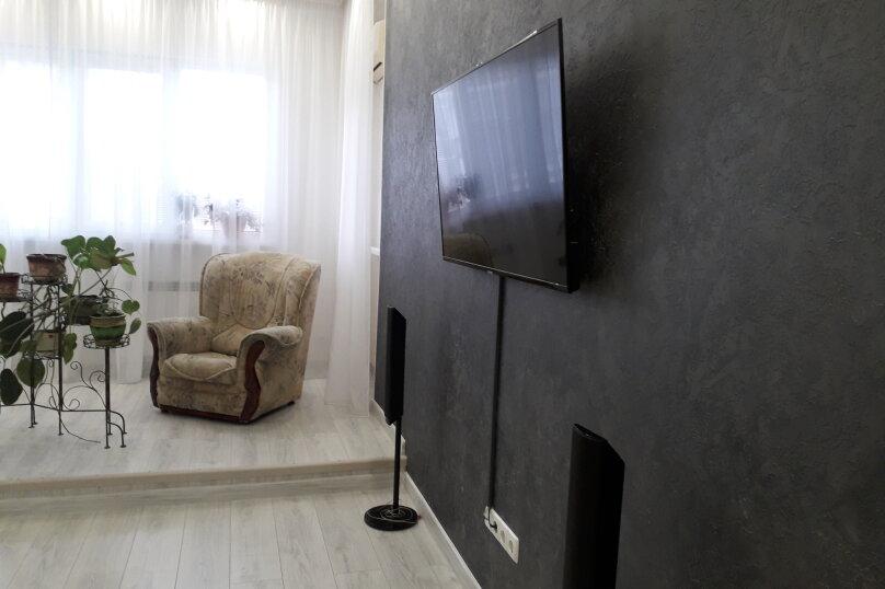 Коттедж-эллинг поэтажно, 60 кв.м. на 4 человека, 2 спальни, Приозёрная улица, 62, Партенит - Фотография 2