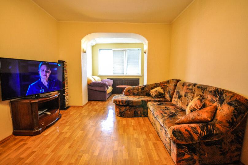 2-комн. квартира, 55 кв.м. на 5 человек, улица Толстого, 17, Новороссийск - Фотография 6
