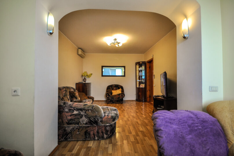 2-комн. квартира, 55 кв.м. на 5 человек, улица Толстого, 17, Новороссийск - Фотография 10