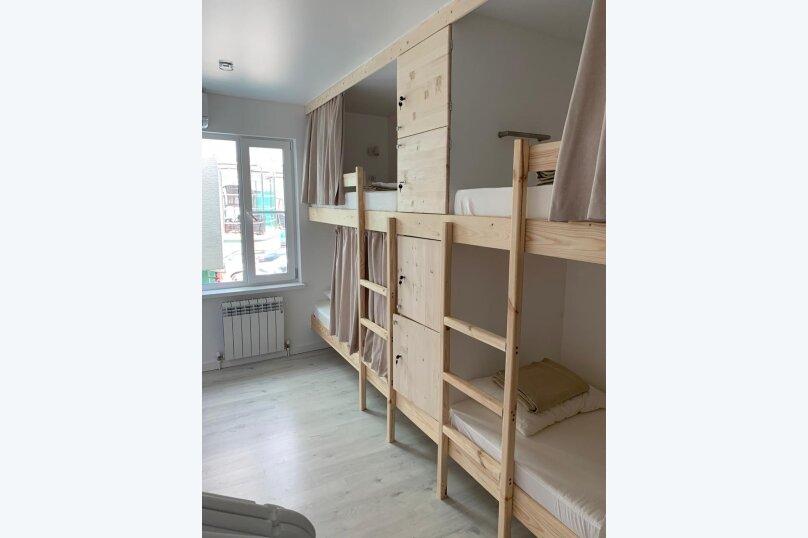 Кровать в женской 4-местной комнате, улица Ленина, 31А, Дивноморское - Фотография 1
