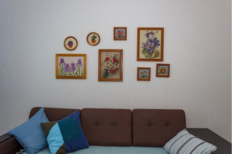 2-комн. квартира, 60 кв.м. на 5 человек, улица им. Героя Сарабеева В.И., 9, Краснодар - Фотография 4