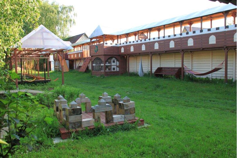 Дом, 100 кв.м. на 10 человек, 1 спальня, Козельское, Солнечная, 42, Боровск - Фотография 13