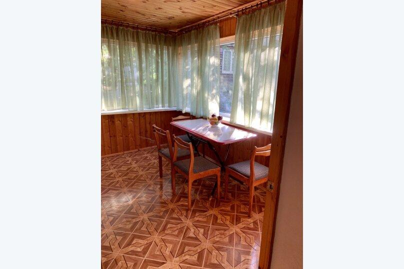 Благоустроенный бревенчатый дом, 57 кв.м. на 8 человек, Пограничная улица, 20, Геленджик - Фотография 16