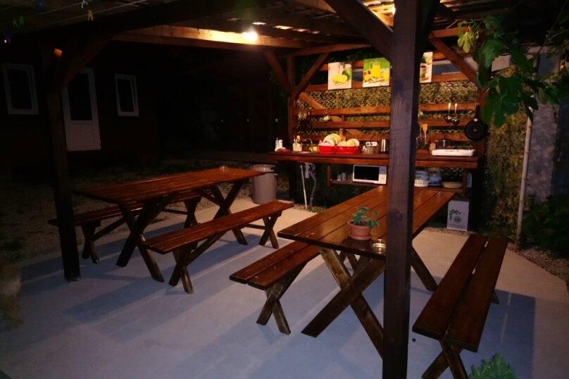 Деревянный садовый домик на набережной , 12 кв.м. на 2 человека, 1 спальня, улица Герцена, 25, Геленджик - Фотография 9