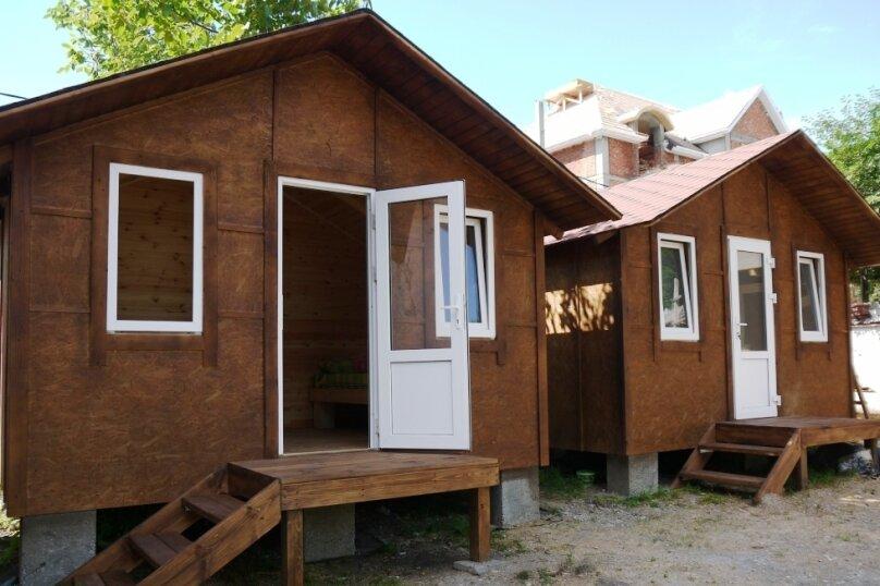 Деревянный садовый домик на набережной , 12 кв.м. на 2 человека, 1 спальня, улица Герцена, 25, Геленджик - Фотография 15