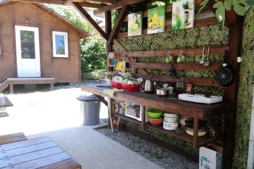 Деревянный садовый домик на набережной , 12 кв.м. на 2 человека, 1 спальня, улица Герцена, 25, Геленджик - Фотография 16