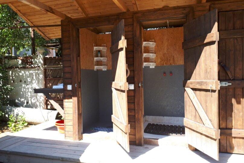 Деревянный садовый домик на набережной , 12 кв.м. на 2 человека, 1 спальня, улица Герцена, 25, Геленджик - Фотография 17