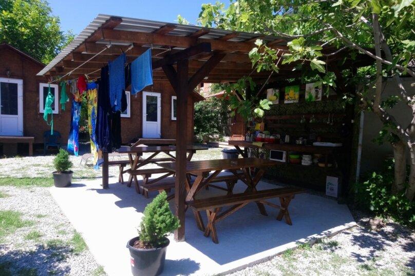Деревянный садовый домик на набережной , 12 кв.м. на 2 человека, 1 спальня, улица Герцена, 25, Геленджик - Фотография 24