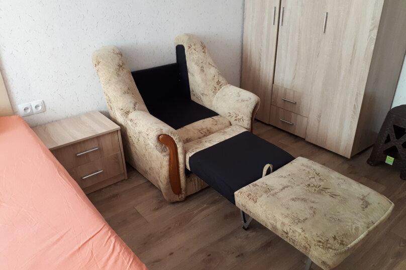 1-комн. квартира, 37 кв.м. на 3 человека, Донская улица/переулок Бокуна, 26А/33Б, Симферополь - Фотография 6