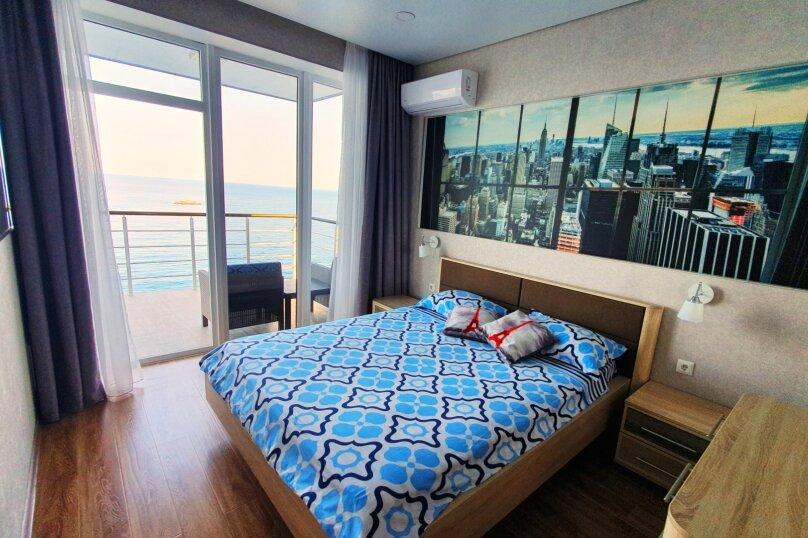 5й этаж вид на море (полулюкс с балконом ), улица Княгини Гагариной,  135, Утес - Фотография 5