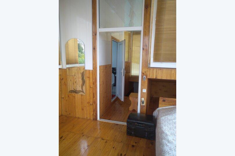 Часть дома. Панорамный люкс с балконом. на 2 человека, 1 спальня, улица Васильченко, 16, Симеиз - Фотография 17