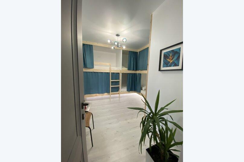 Кровать в общей 8-местной комнате, улица Ленина, 31А, Дивноморское - Фотография 1