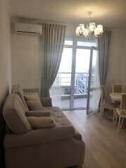 2-комн. квартира, 50 кв.м. на 4 человека, Ялтинская улица, 14А, Гурзуф - Фотография 1