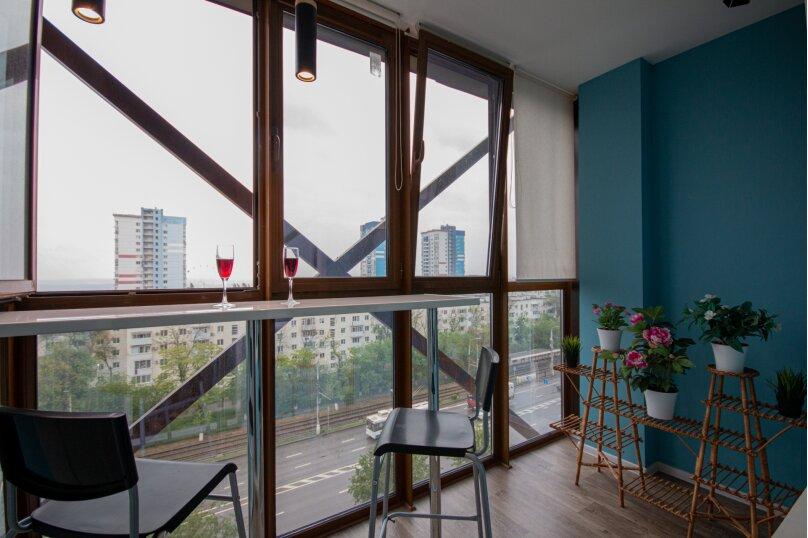 1-комн. квартира, 38 кв.м. на 4 человека, проспект имени В.И. Ленина, 59Р, Волгоград - Фотография 28