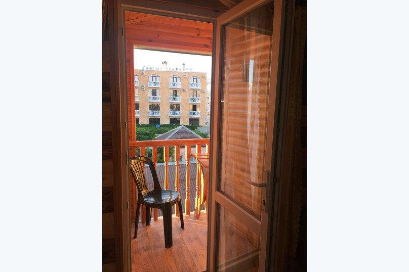Однокомнатный 2-х местный с балконом (на 3-м этаже), Таврическая улица, 71, Судак - Фотография 25