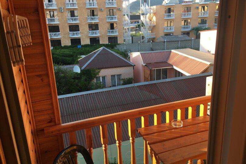 Однокомнатный 2-х местный с балконом (на 3-м этаже), Таврическая улица, 71, Судак - Фотография 26