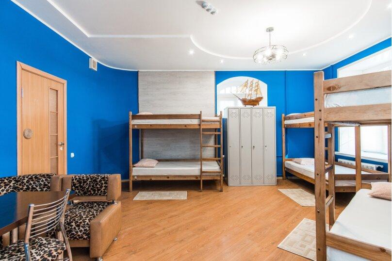 6-местный номер Комфорт (мужской), Привокзальная улица, 9, Барнаул - Фотография 1