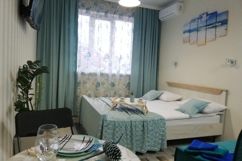 1-комн. квартира, 25 кв.м. на 4 человека, Туристическая улица, 4Гк7, Геленджик - Фотография 20
