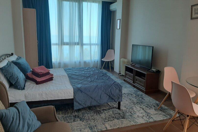 1-комн. квартира, 32 кв.м. на 4 человека, Маратовская улица, 3С, Гаспра - Фотография 1