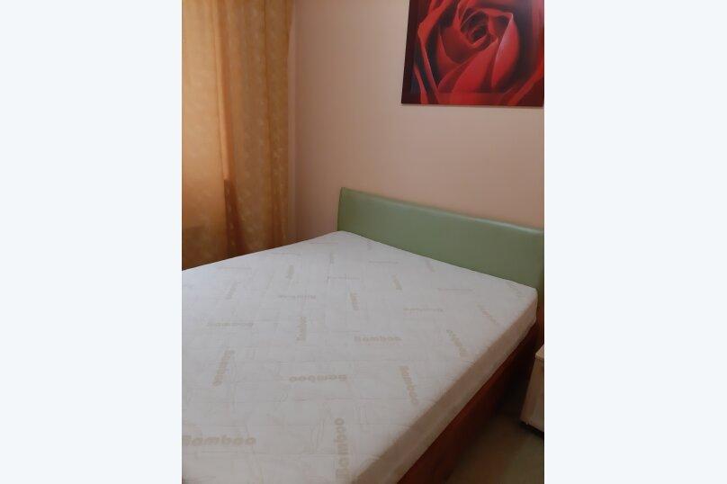 2-комн. квартира, 55 кв.м. на 5 человек, Донская улица/переулок Бокуна, 26А/33Б, Симферополь - Фотография 10