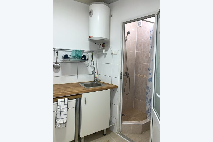 Двухуровневый коттедж, 25 кв.м. на 2 человека, 1 спальня, улица Дёмышева, 15, Евпатория - Фотография 4