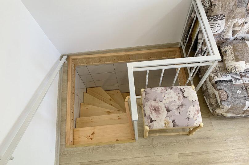 Двухуровневый коттедж, 25 кв.м. на 2 человека, 1 спальня, улица Дёмышева, 15, Евпатория - Фотография 16