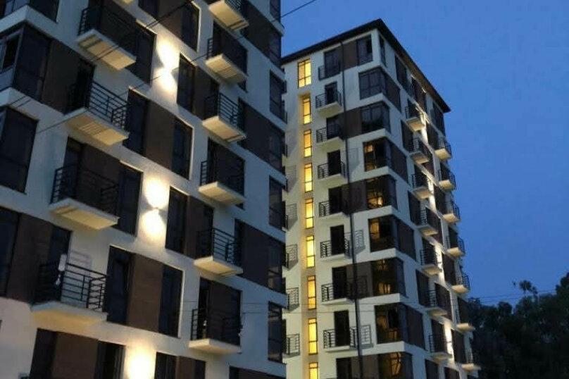 1-комн. квартира, 25 кв.м. на 3 человека, Нагорный тупик, 13В, Адлер - Фотография 19