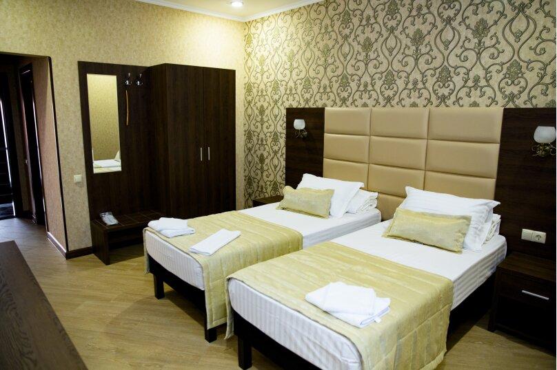 Двухместный номер с двумя кроватями, Исполкомовская улица, 1А, Апшеронск - Фотография 1