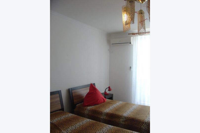 2-комн. квартира, 59 кв.м. на 6 человек, Симферопольское шоссе, 24Б, Феодосия - Фотография 4