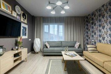 3-комн. квартира, 85 кв.м. на 7 человек, Красносельское шоссе, 48/60, Пушкин - Фотография 1