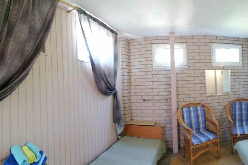 Домик-апартаменты с отдельным входом на 6-7 гостей, 75 кв.м. на 6 человек, 2 спальни, улица Ленина, 49Г, Морское - Фотография 15