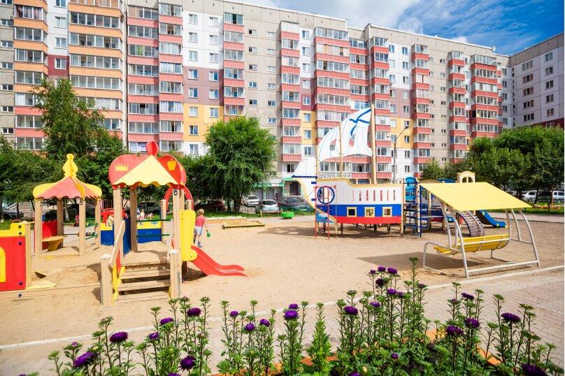 2-комн. квартира, 54 кв.м. на 4 человека, улица Батурина, 19, Красноярск - Фотография 9