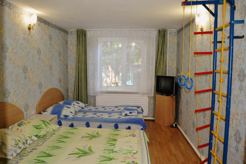 2-комн. квартира, 34 кв.м. на 8 человек, Овражная улица, 8, Витязево - Фотография 10