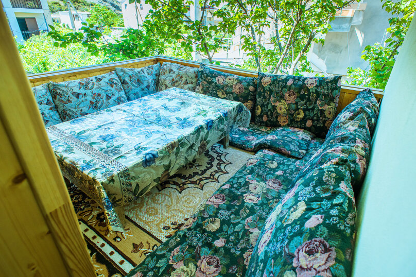 двух комнатный с кухней, улица Кофеваров, 9, район Ачиклар, Судак - Фотография 6
