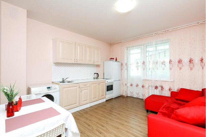 1-комн. квартира, 42 кв.м. на 4 человека, улица Дмитрия Шамшурина, 1, Новосибирск - Фотография 1